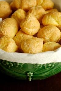 Chouquettes à la crème de Roquefort