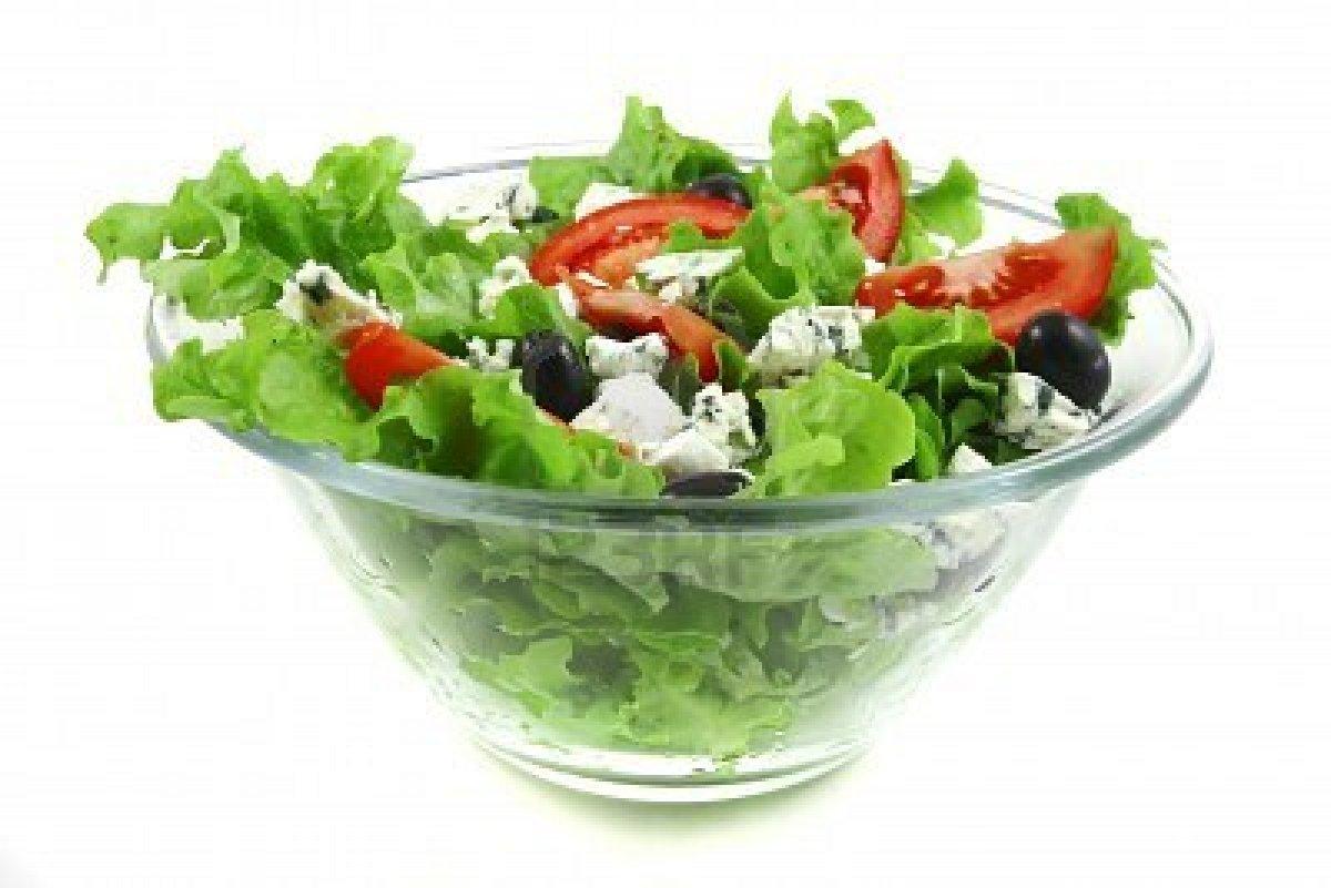 Salade au jambon et Roquefort